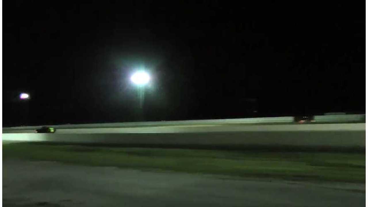 Zombie 222 Destroys Tesla Model S P85D - Drag Race Video