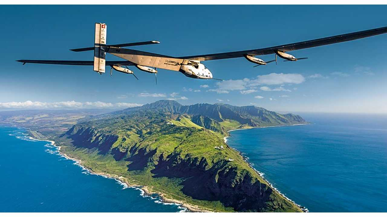 Solar Impulse 2 Sets Record With 118 Hours Of Continuous Flight