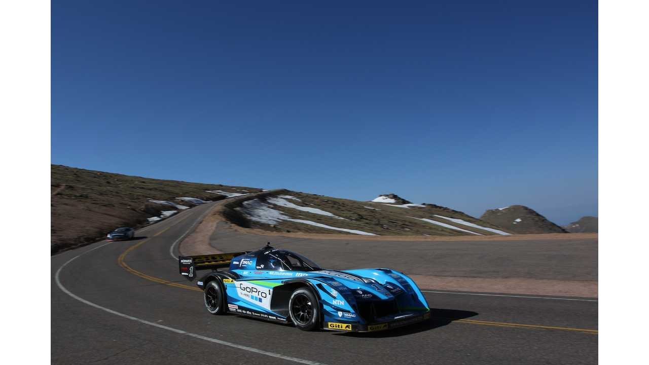 2015 Tajima Rimac E-Runner Concept_One - practice run