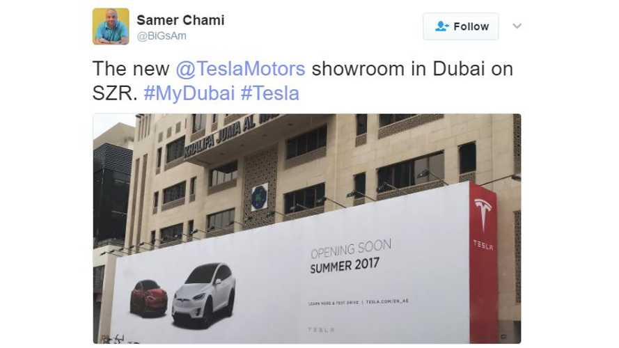 Tesla Gears Up For Future Strong Sales Of Model S, X & 3 In Dubai, UAE