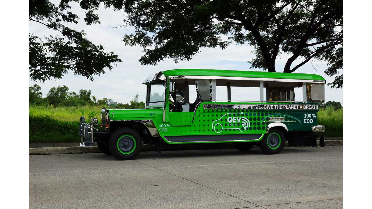 Electric Jeepney Project Gets Help From Formula E Engineers