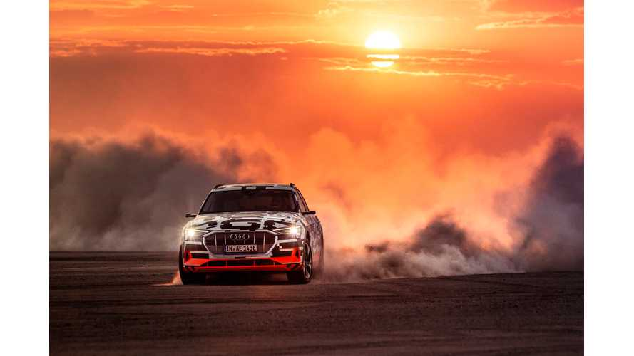 Audi e-tron Offers Electrifying Dynamics, Unmatched AWD
