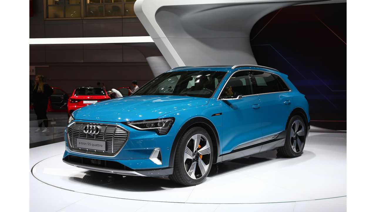 Audi Puts Price Tag On E-Tron In UK