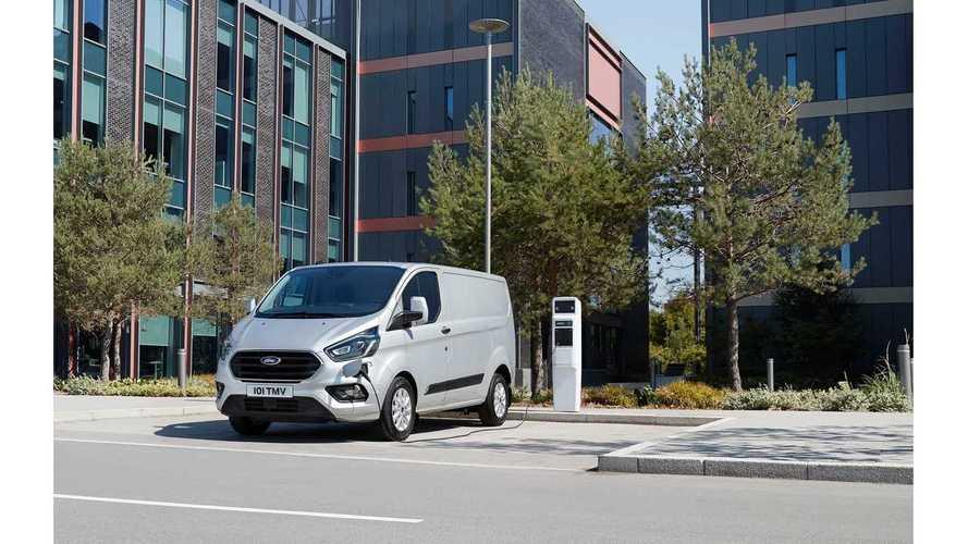 Ford Reveals Transit Custom Range-Extended PHEV