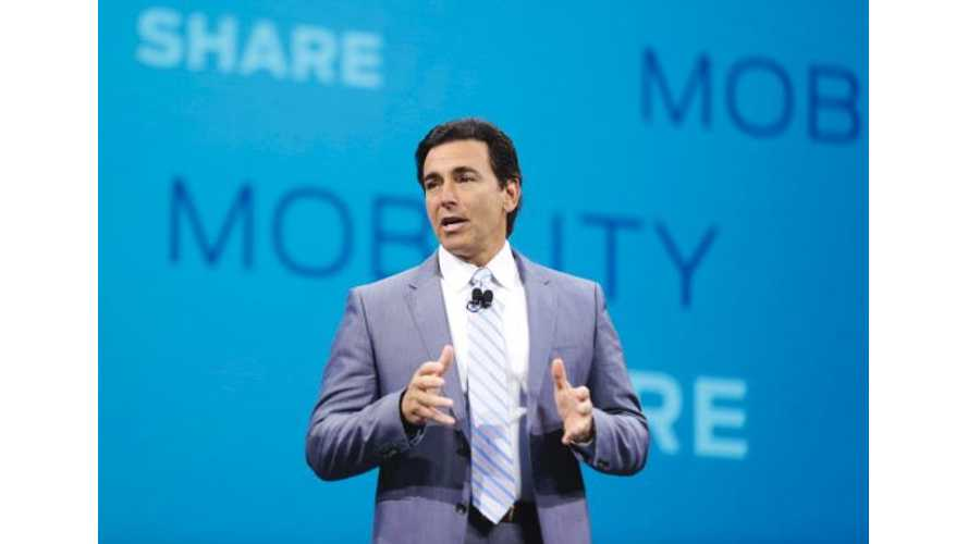 Why Former Ford CEO Mark Fields Is