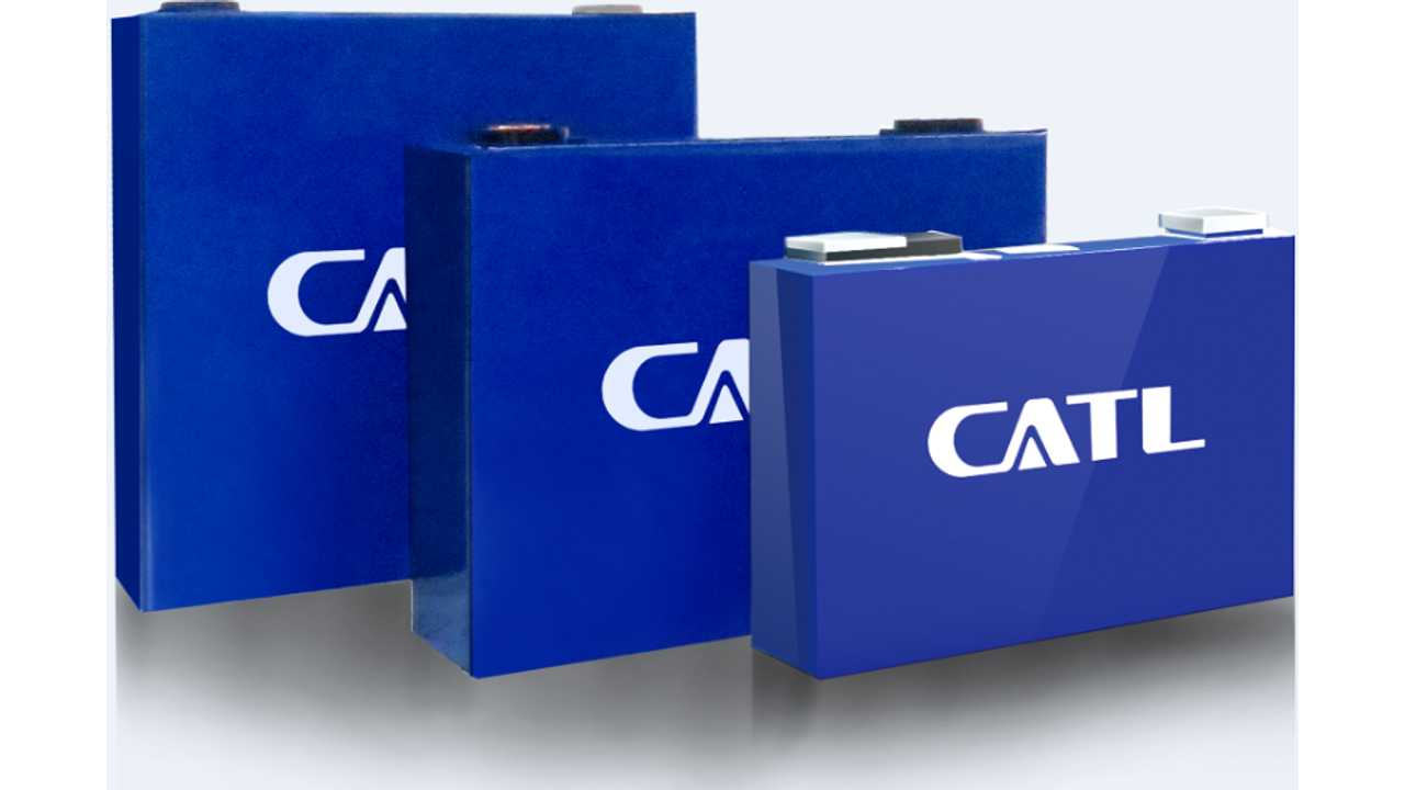 Contemporary Amperex Technology Co., Limited (CATL) battery cells