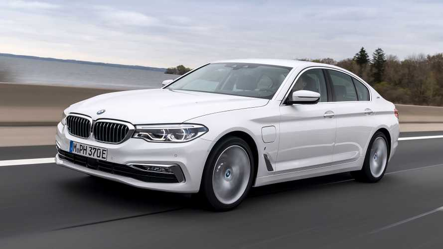 Official EPA Figures Posted For 2018 BMW 530e & 530e xDrive, Up To 16 Miles Range