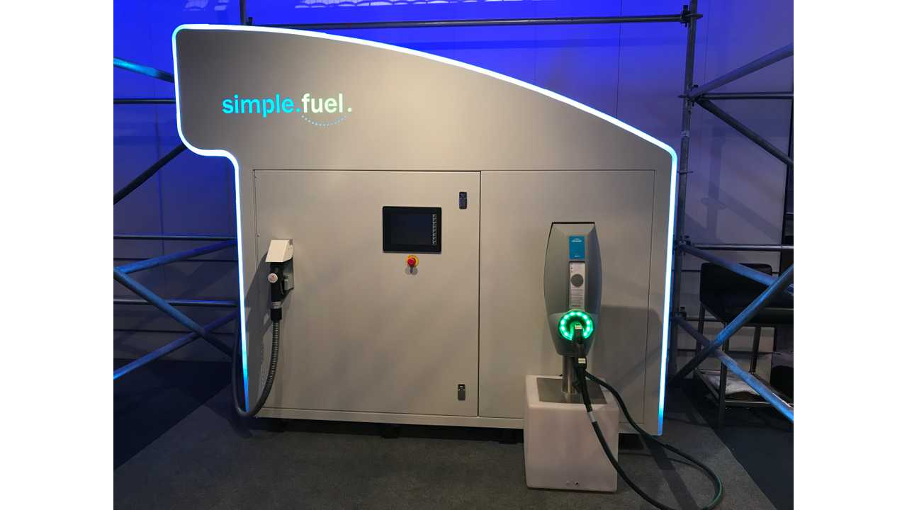 IVYS Simple Fuel Hydrogen Station