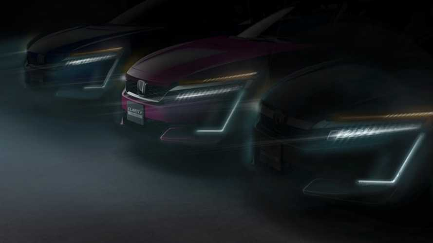 Honda Teases Clarity Electric & Plug-In Hybrid, Debut Set For April In New York