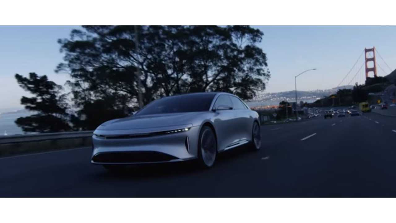Lucid Motors CTO Discusses Lucid Air With TechCrunch - Video