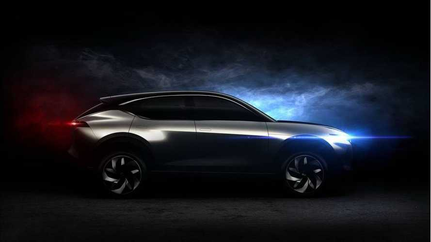 Pininfarina Teases Pure Electric K350 Crossover Concept