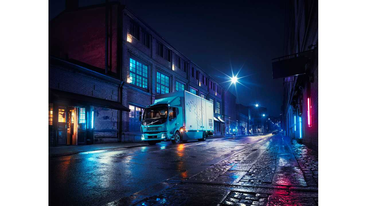 Volvo Debuts FL Electric Truck With Up To 300 kWh Battery
