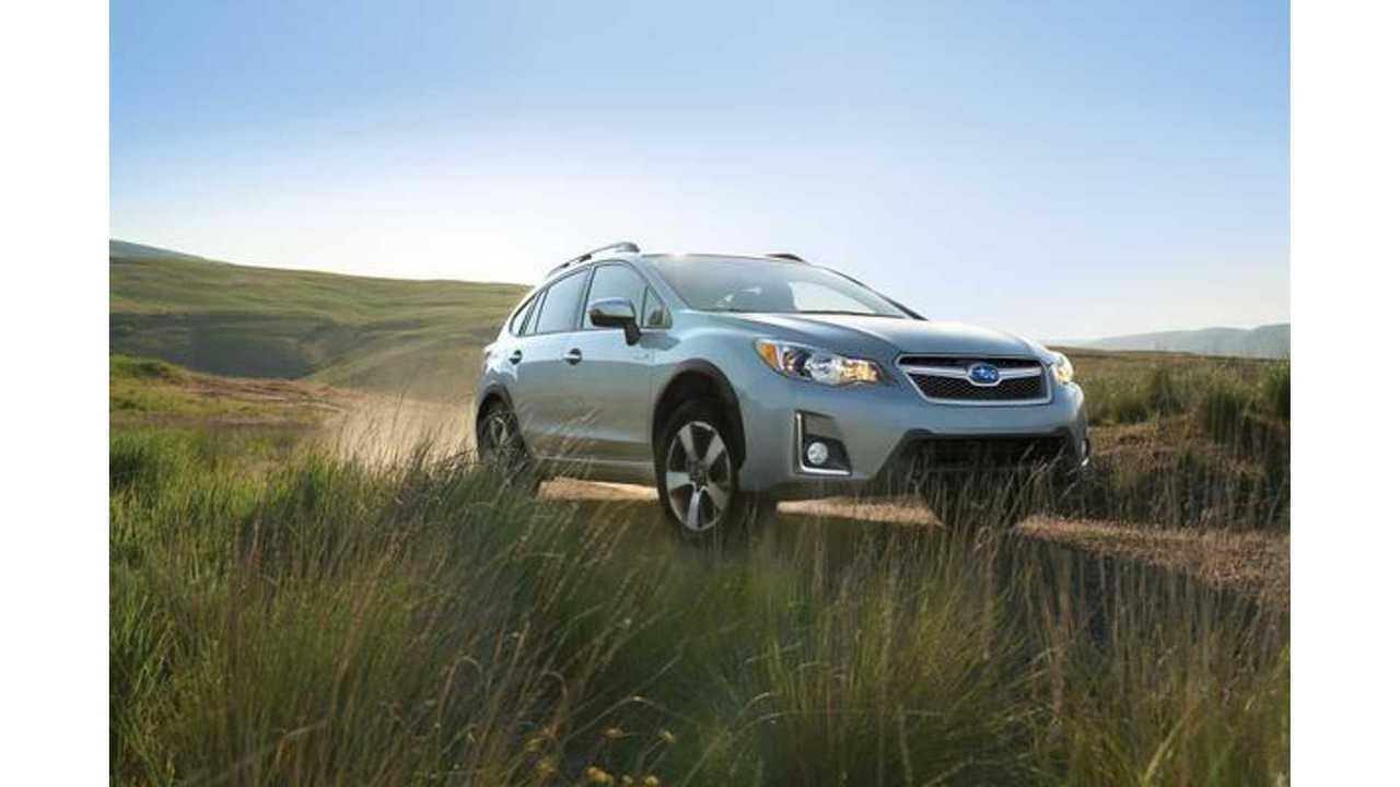 Subaru Evoltis PHEV To Use Toyota Prius Prime Tech
