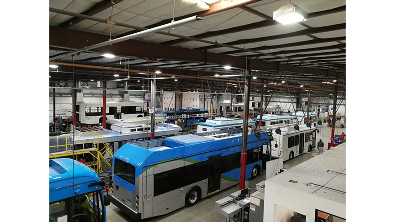 Plug-In Electric Bus Sales: Up 40% So Far In 2017
