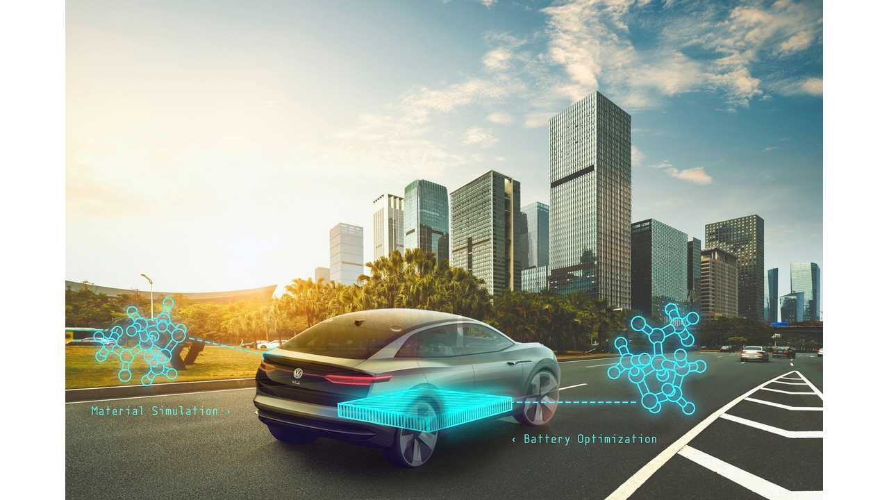 VW, Google Partner For High-Performance EV Batteries
