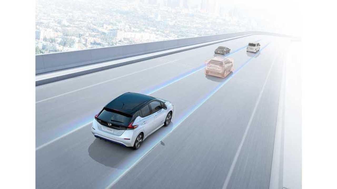2018 Nissan LEAF ProPilot Functionality Test Driven - Video