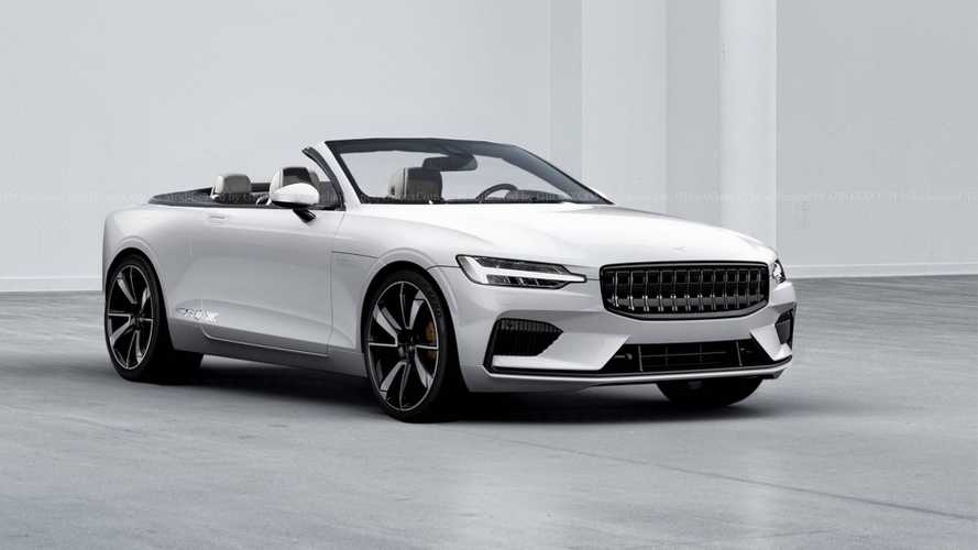 Polestar 1 Drops Its Top In Virtual World