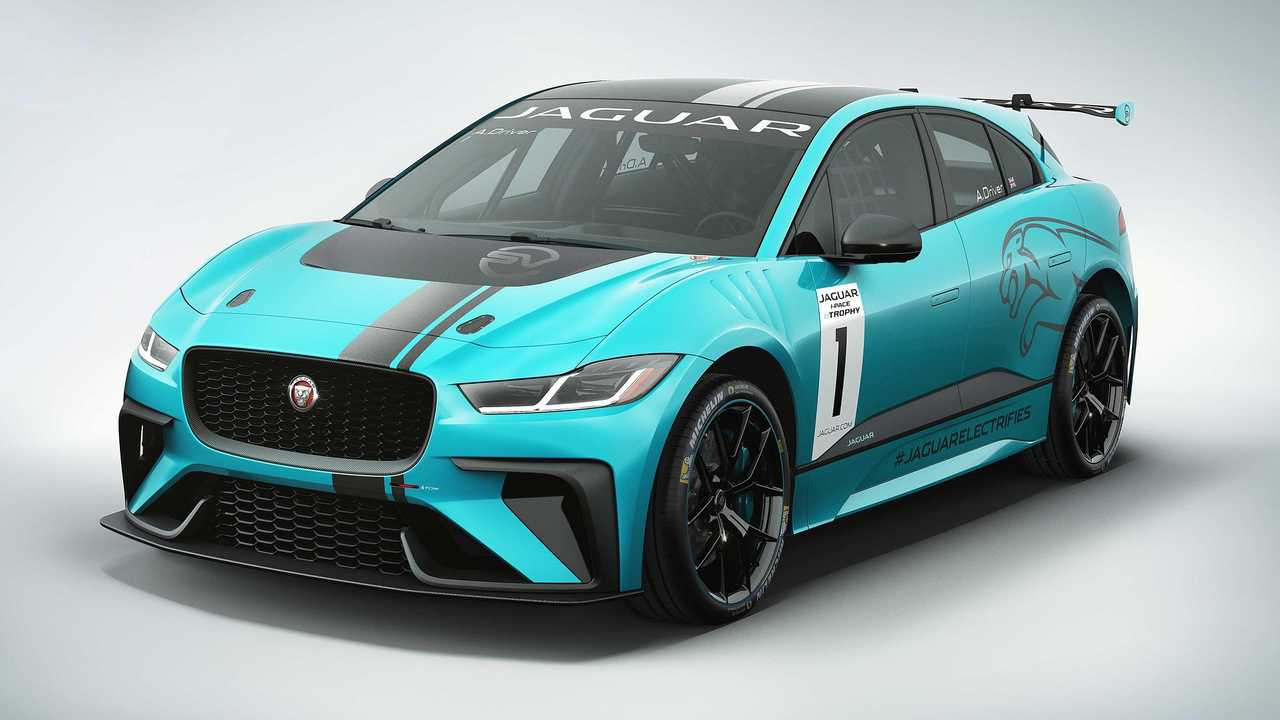 Michelin Partners With Jaguar For I-Pace eTrophy Racing Series
