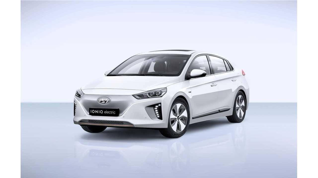 Hyundai Prices IONIQ Electric (and Hybrid) Decently In UK