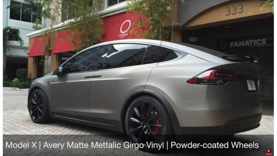 EVANNEX Demonstrates Vinyl Wraps For Tesla Model S and Model X