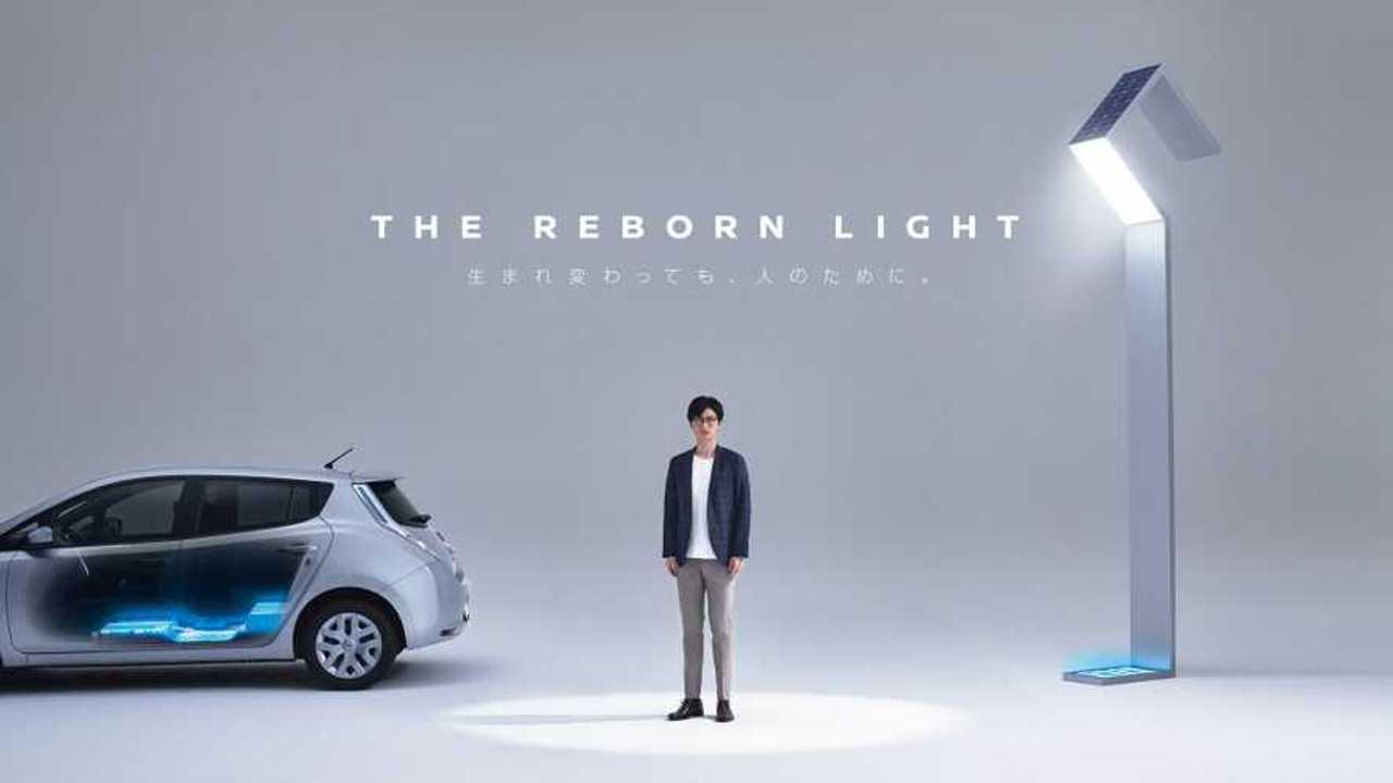 Nissan's Reborn Light Project Deploys Used LEAF Batteries