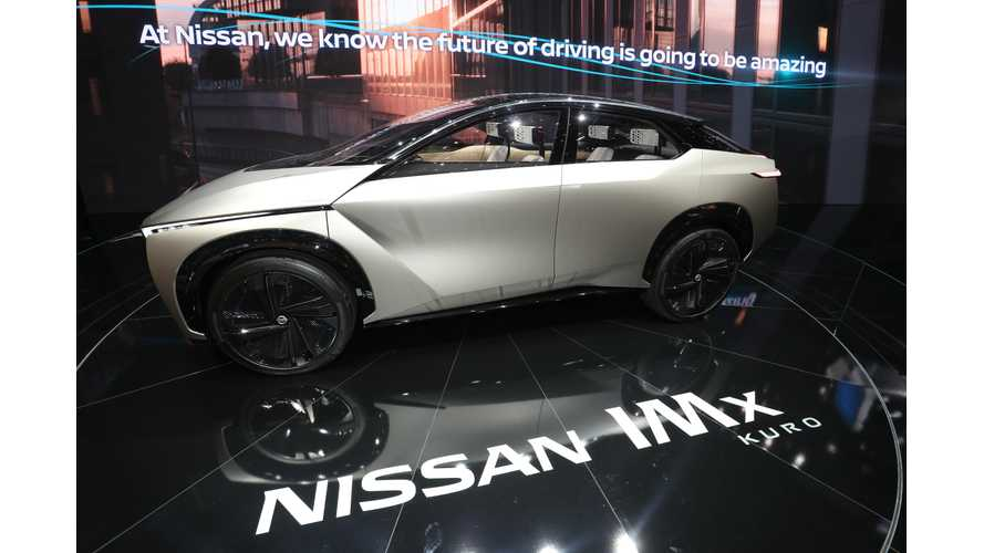 Nissan Trademarks IMS & IMQ: Possible Electric Crossovers