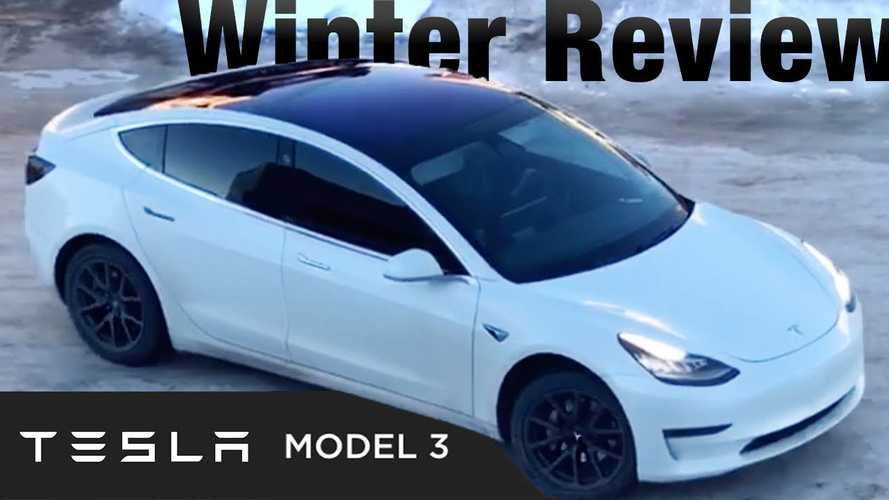 Tesla Model 3 Winter Test: Cold Weather Demands A Long-Range Battery