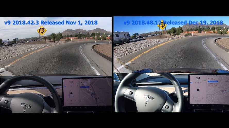 Tesla Model 3 Autopilot Much Improved On Curve Of Death: Video