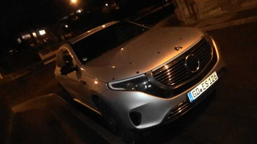 Mercedes-Benz EQC 400 Electric CUV Spotted In Germany: Video