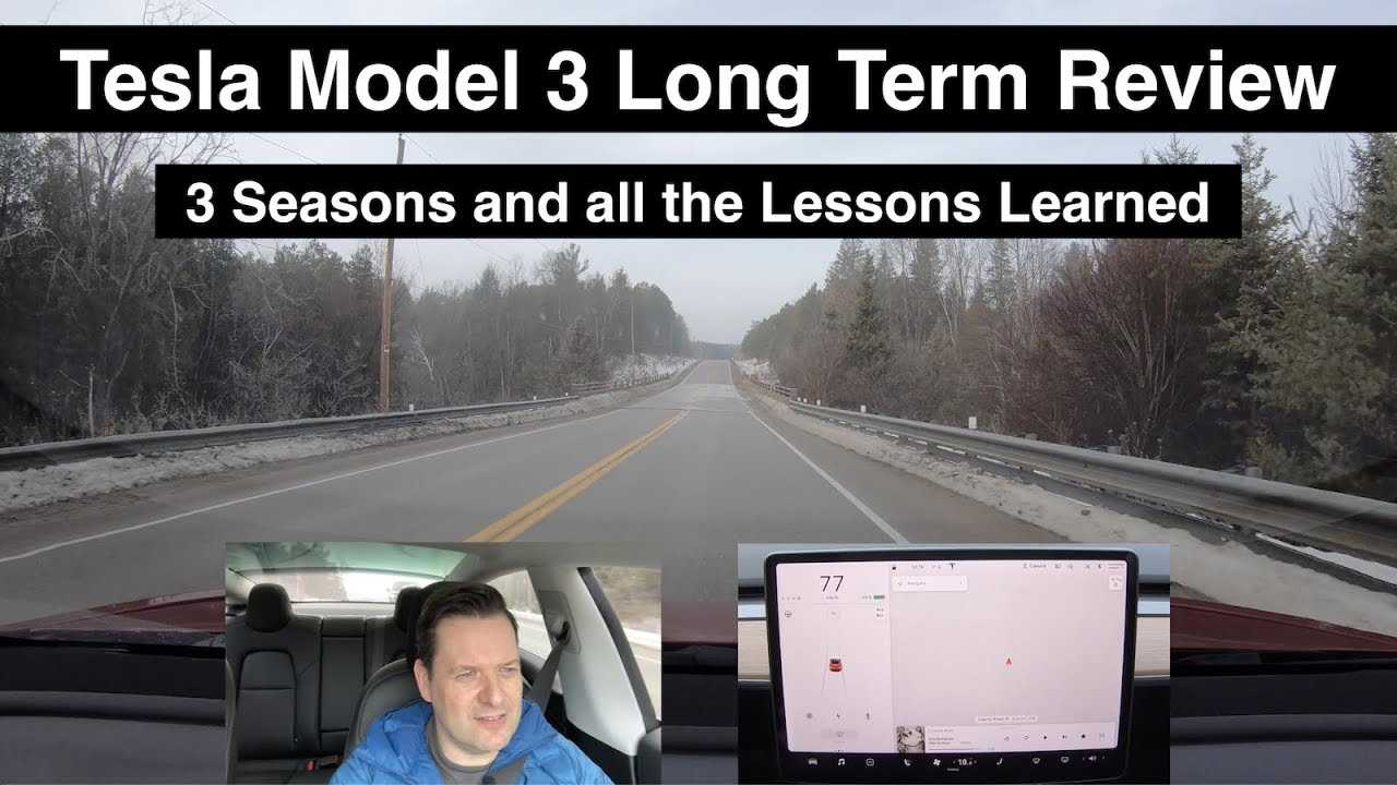 Tesla Model 3 Long Term Review | Lessons Learned Over Three Seasons