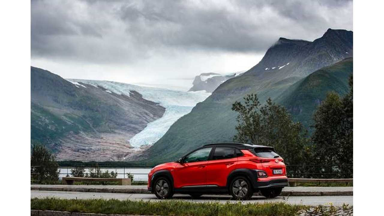 Electric Cars Accounted For 1/3 Of Norway's New Car Sales In 2018