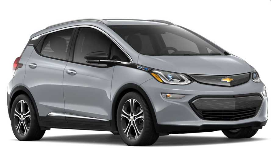 2019 Chevy Bolt: First Look At New Slate Gray Metallic Color