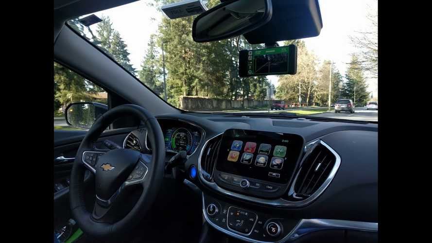 Watch This Chevy Volt Drive Itself With Openpilot From Comma.ai