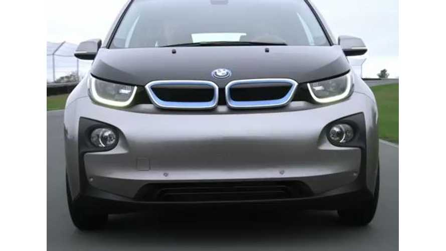 BMW i3 REx - 2.4 Gallon Gas Tank Shrinks To 1.9 Gallons