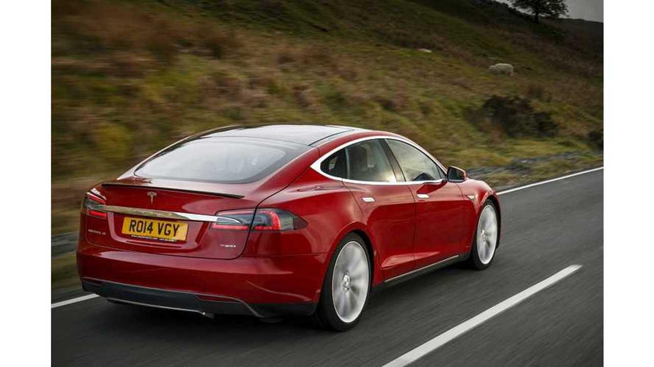 Top Gear's Richard Hammond: Tesla Model S Acceleration Is