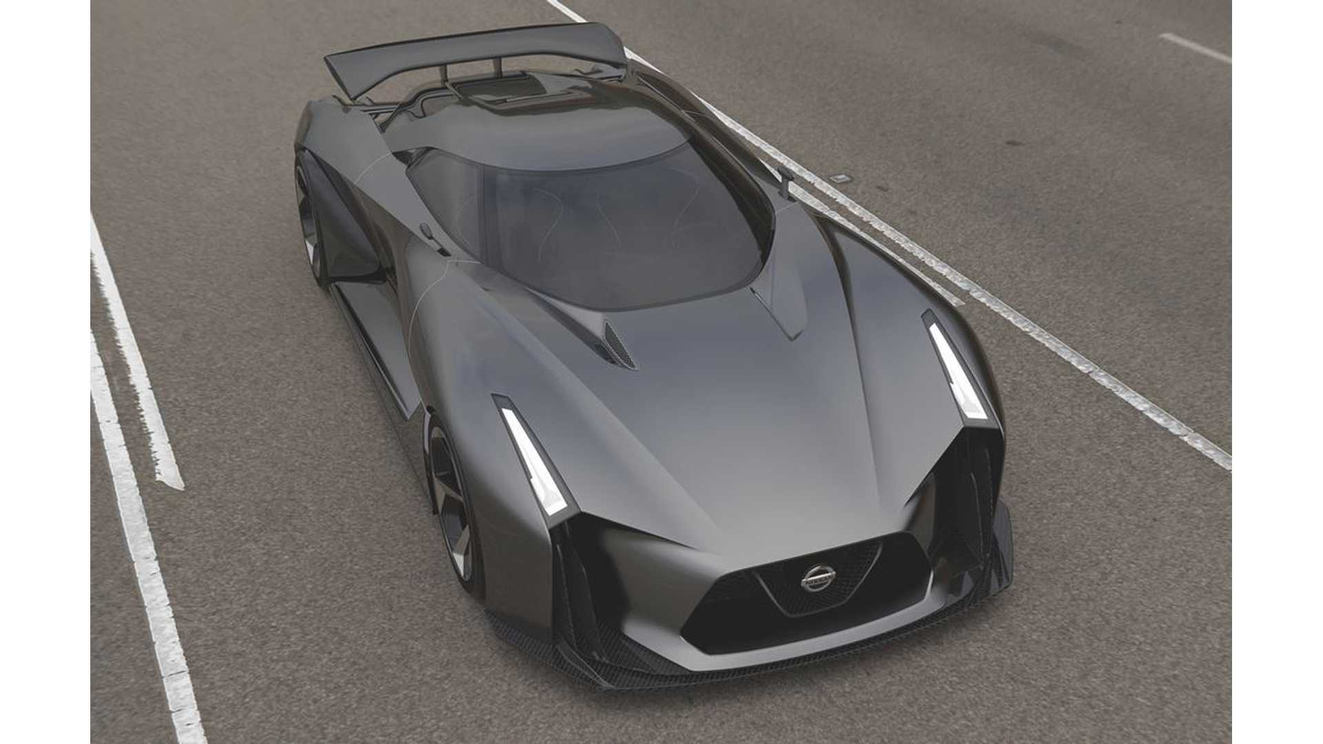 Nissan Reveals Concept 2020 Vision Gran Turismo Vision Of