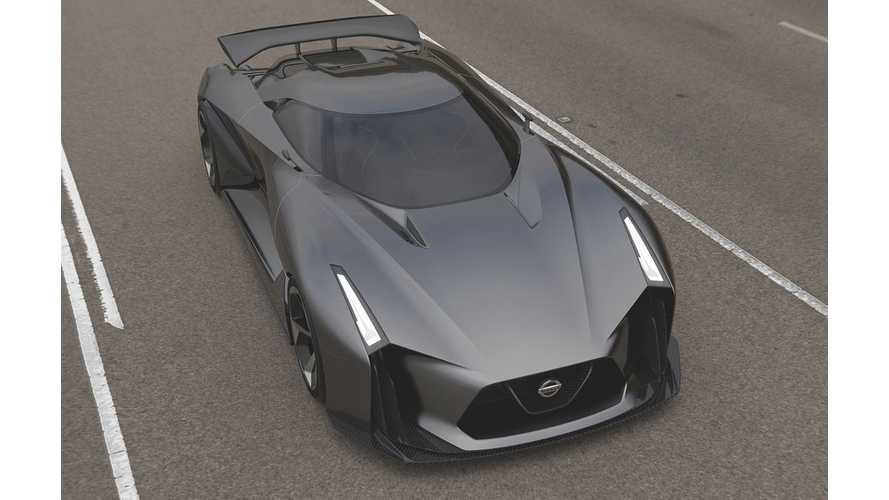 Nissan Reveals Concept 2020 Vision Gran Turismo - Vision Of Future Supercar PHEV