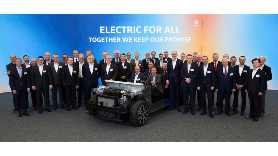 Volkswagen Meets With Suppliers: Starts Countdown To I.D. EV Launch