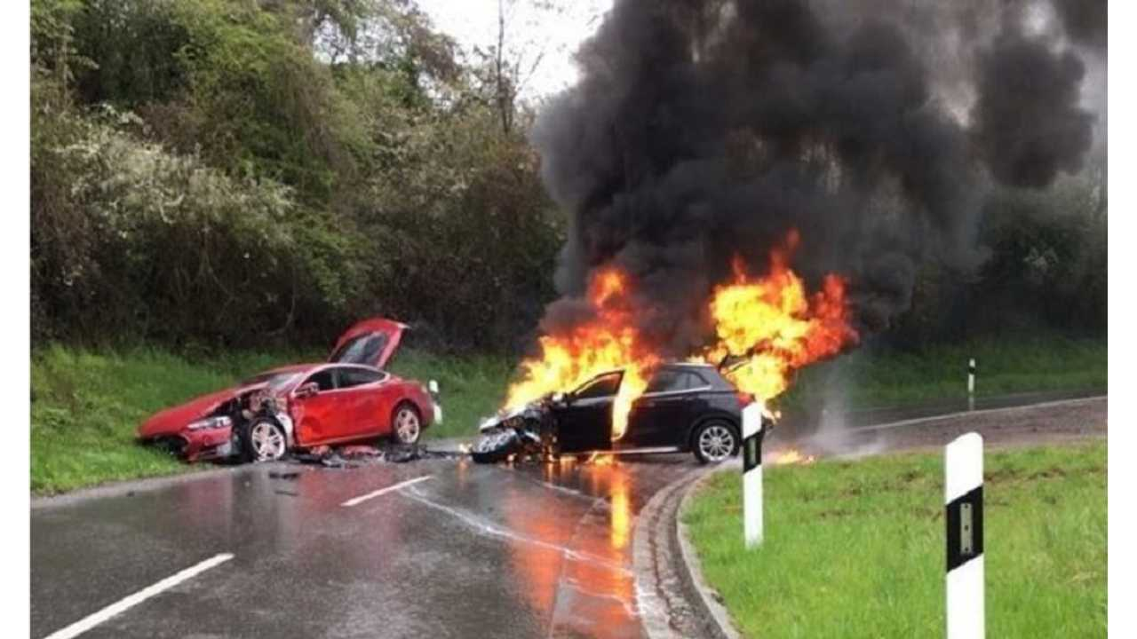 Are EVs More Or Less Likely To Catch Fire Than Combustion Engined Cars?