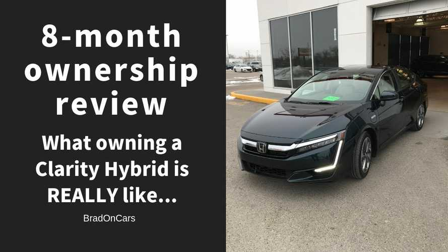What's It Like To Own A Honda Clarity Plug-In Hybrid For 8 Months?
