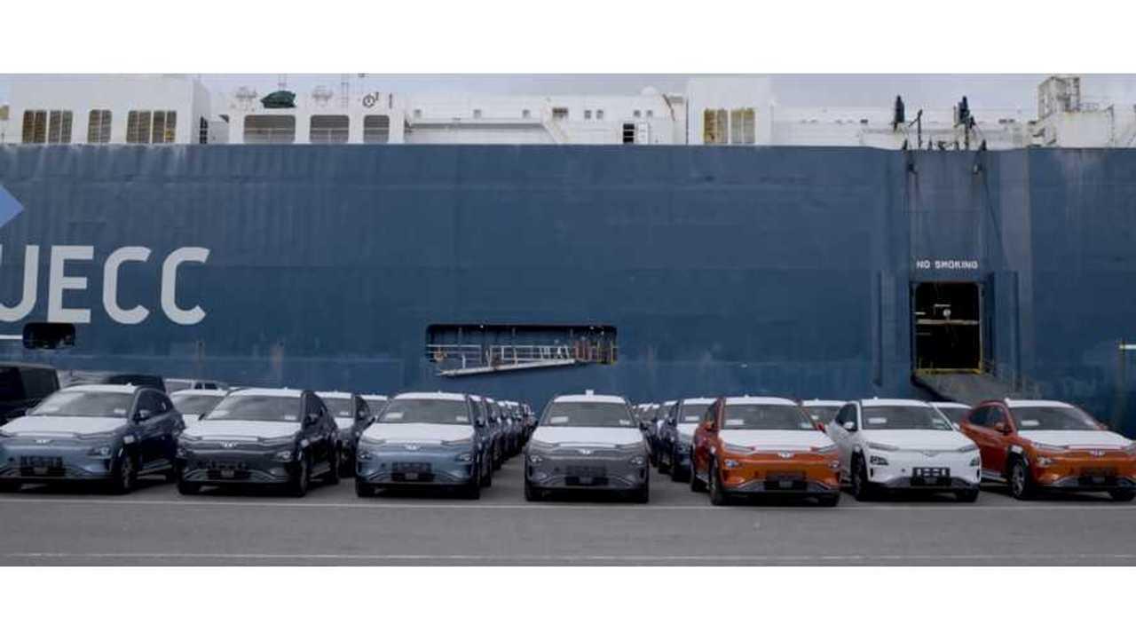Hyundai Kona Electric in Norway