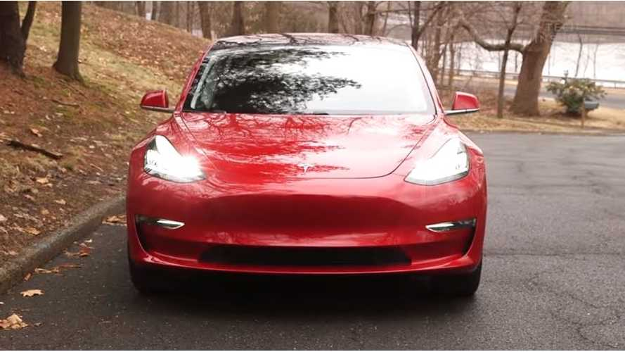 Check Out This Brand-New In-Depth Tesla Model 3 Review