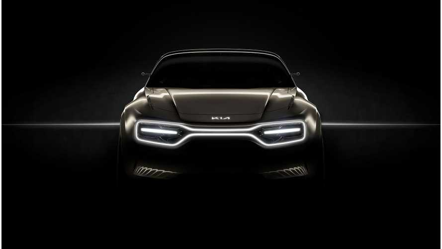 Kia Teases New Sporty Electric Car Ahead Of Geneva Reveal