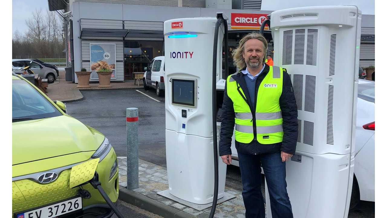 First IONITY 350 kW Chargers Ready For Use In Denmark