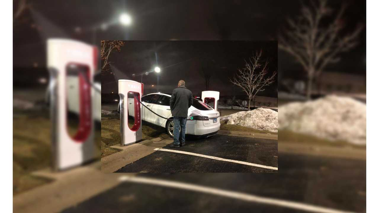 UPDATE - Here's One Super Wacky Way To Charge Your Tesla