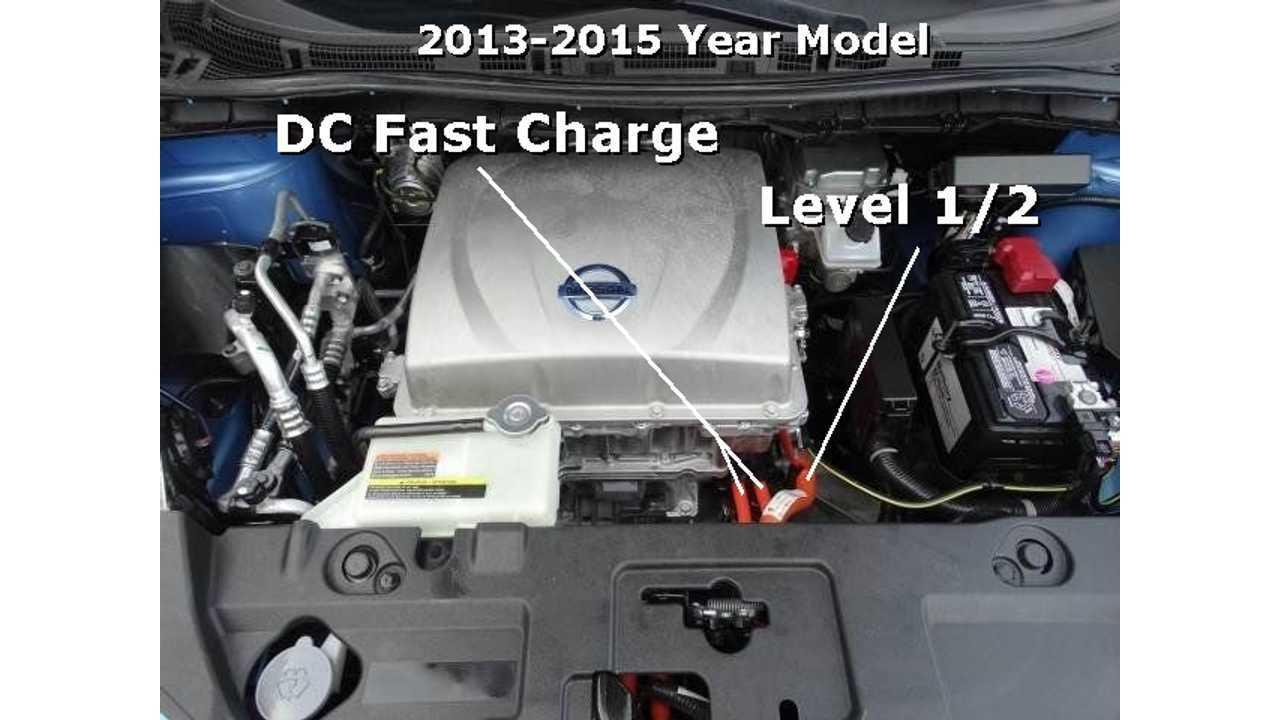 2013-2015 Nissan LEAF Engine Compartment