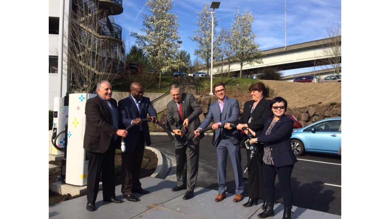 Bellevue Nissan Opens Six Unit CHAdeMO Station In Washington (w/videos)