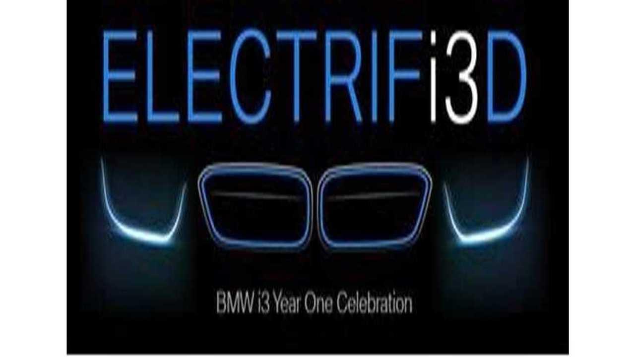BMW i3 One Year Anniversary Celebrations