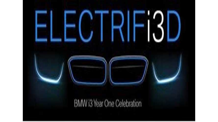 BMW i3 One Year Anniversary Celebrations