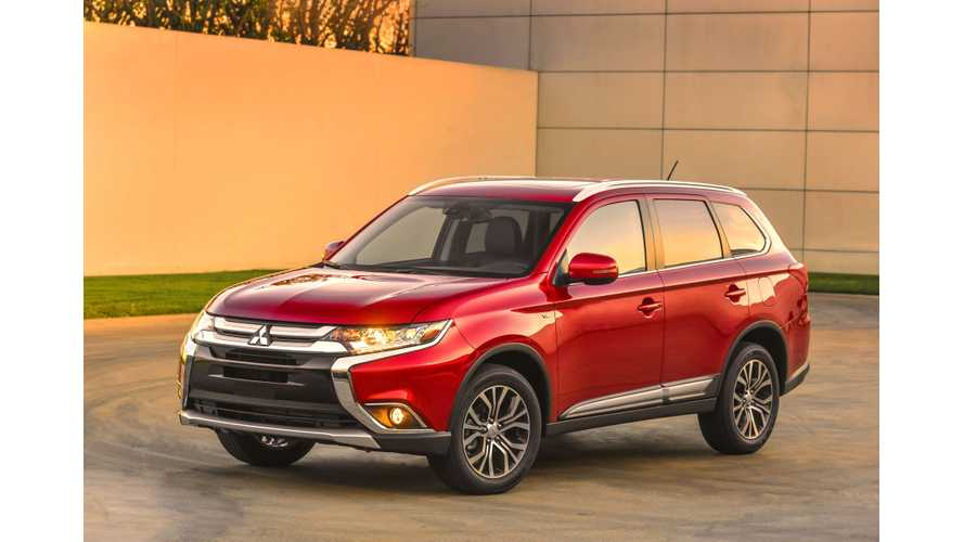 Updated 2016 Mitsubishi Outlander Revealed At 2015 New York Auto Show